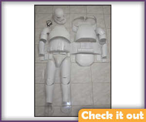 First Order Stormtrooper Armor.
