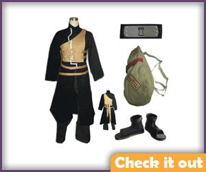 Gaara Costume Black Complete Set.