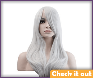 Killer Frost Costume White Wig.
