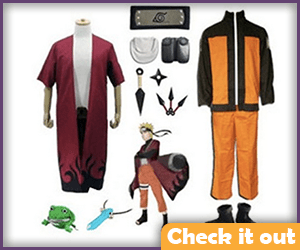 Naruto Costume Adult Set.