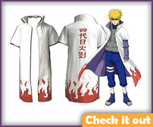 Naruto Costume White Jacket.