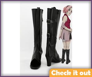 Sakura Black Boots.