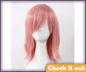 Sakura Costume Pink Wig.