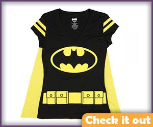 Batgirl Cape Costume Tee.