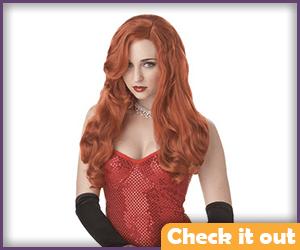 Batgirl Red Wig.