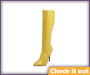Batgirl Yellow Boots.