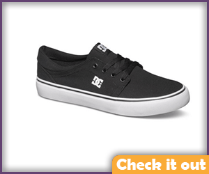 Black Shoes White Sole.
