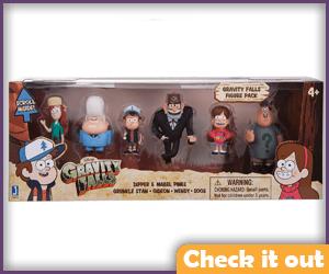 Gravity Falls Costumes Figure Pack.