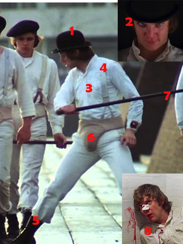 DIY A Clockwork Orange Costume How to Dress Like Alexs