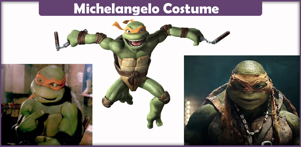 Michelangelo Costume - A DIY Guide