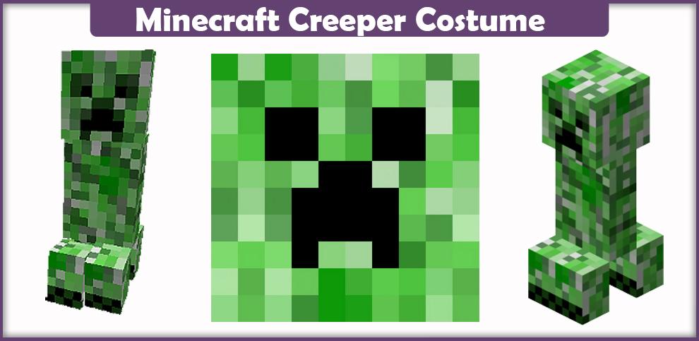 Minecraft Creeper Costume – A DIY Guide
