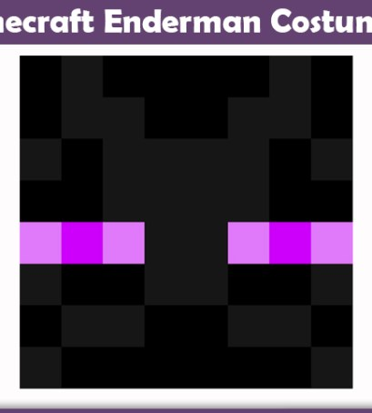 Minecraft Enderman Costume A Diy Guide Cosplay Savvy