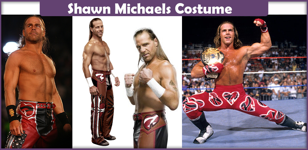 Shawn Michaels Costume  sc 1 st  Cosplay Savvy & Shawn Michaels Costume - A DIY Guide - Cosplay Savvy