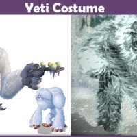 Yeti Costume - A DIY Guide