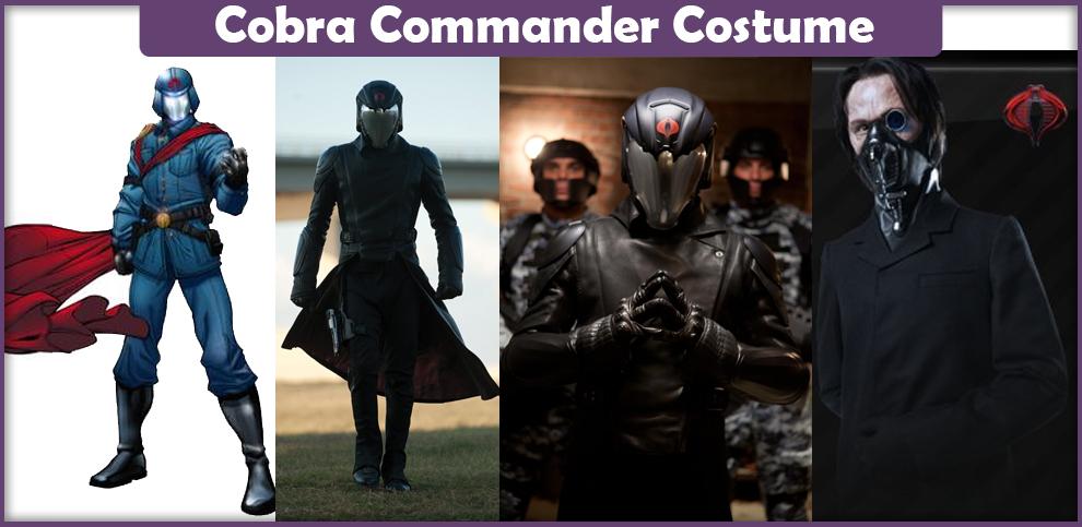 Cobra Commander Costume – A DIY Guide