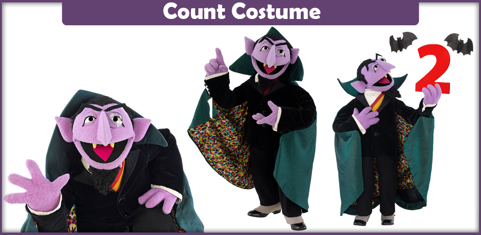 Sesame Street Count Costume – A DIY Guide