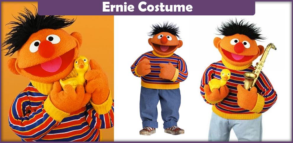 Ernie Costume – A DIY Guide