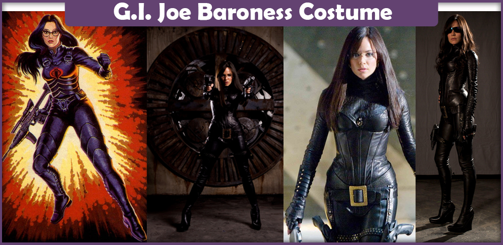 G.I. Joe Baroness Costume – A DIY Guide
