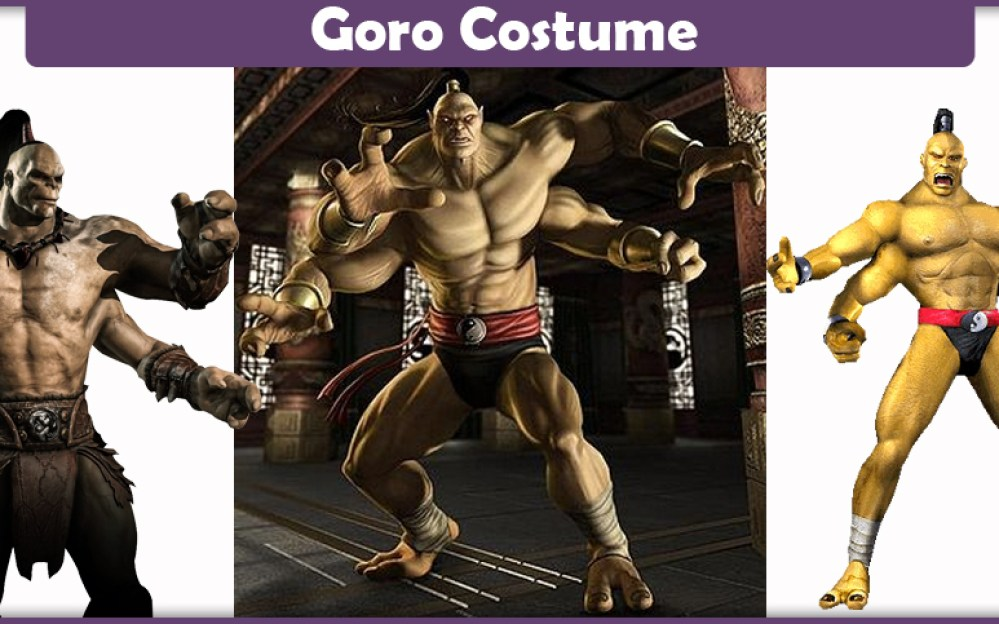 Goro Costume A Diy Guide Cosplay Savvy