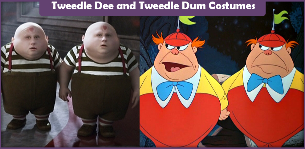 tweedle dee and tweedle dum costumes