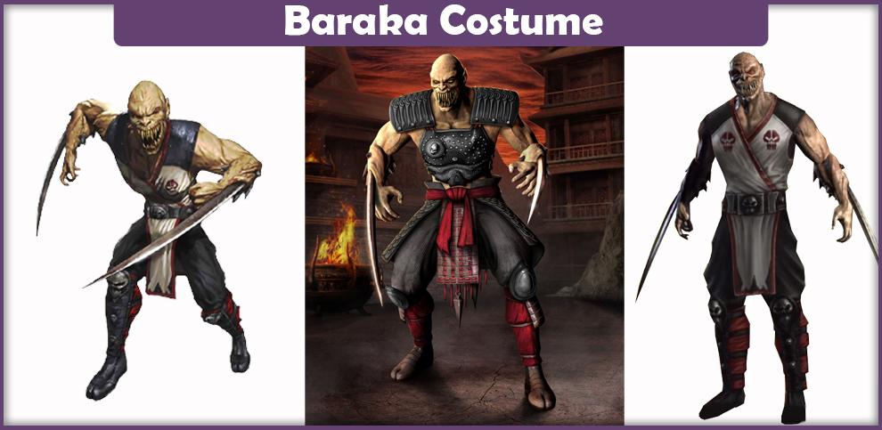 Mortal Kombat Baraka Costume