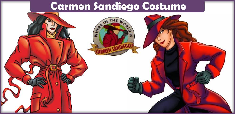 Carmen Sandiego Costume – A DIY Guide