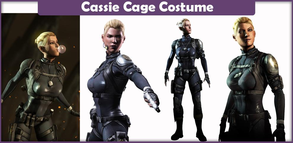 Mortal Kombat Cassie Cage Costume