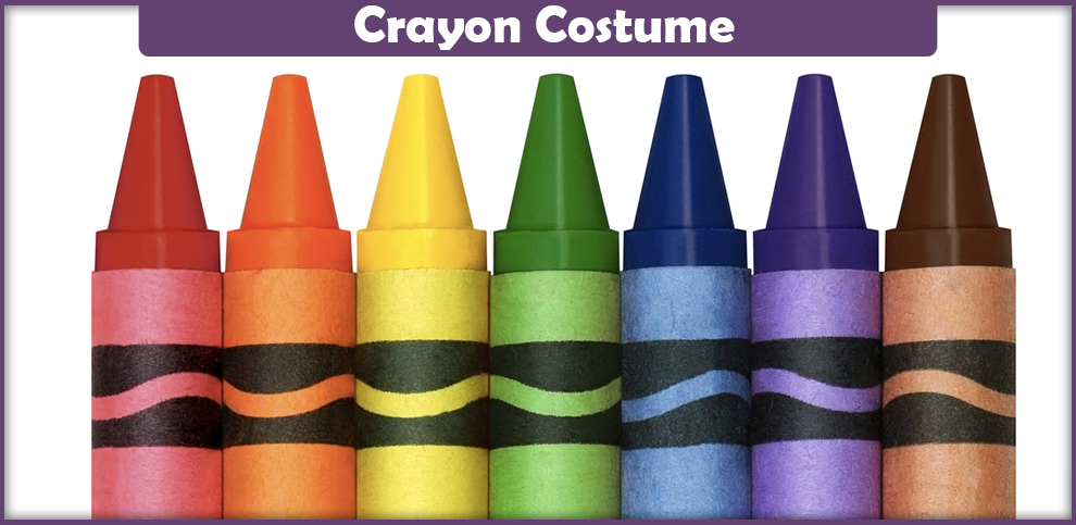 Crayon Costume – A DIY Guide