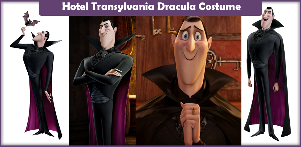 Hotel Transylvania Dracula Costume – A DIY Guide