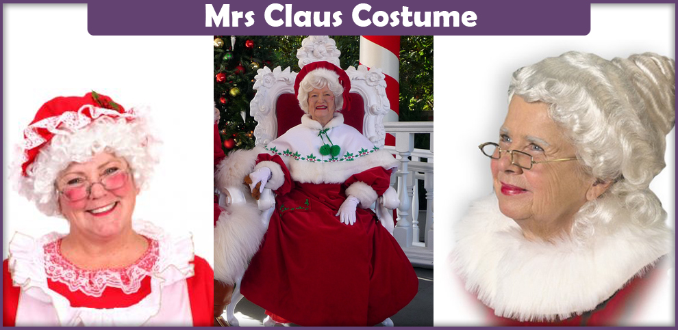 Mrs Claus Costume – A DIY Guide