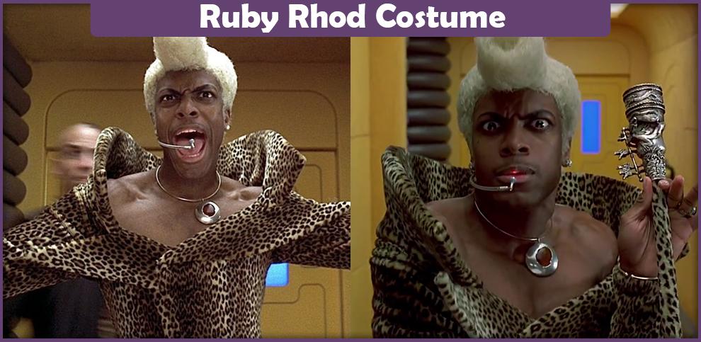 Ruby Rhod Costume
