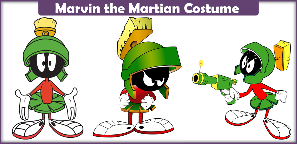 Marvin the Martian Costume – A DIY Guide