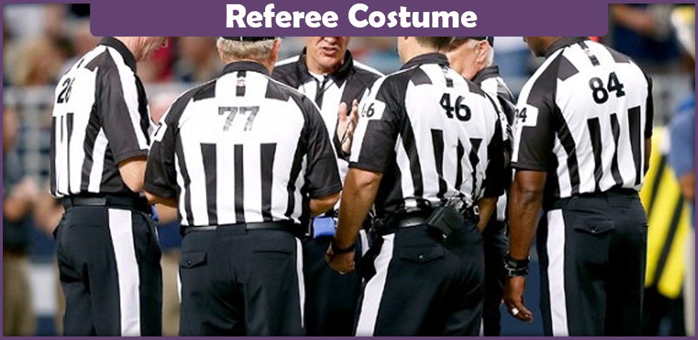 Referee Costume – A DIY Guide