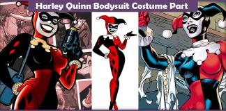 Harley Quinn Bodysuit Costume Part