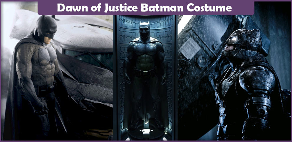 Dawn of Justice Batman Costume