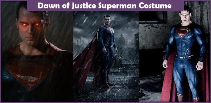 Dawn of Justice Superman Costume