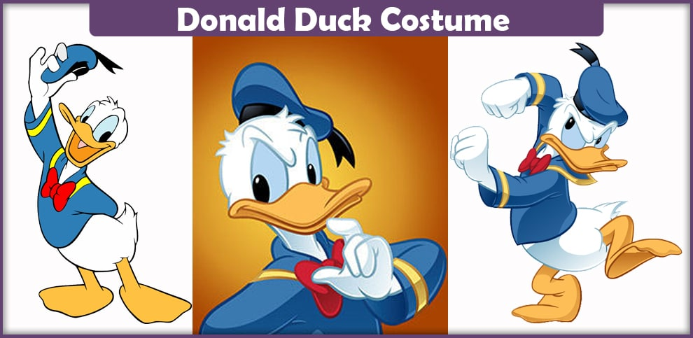 Donald Duck Costume – A DIY Guide