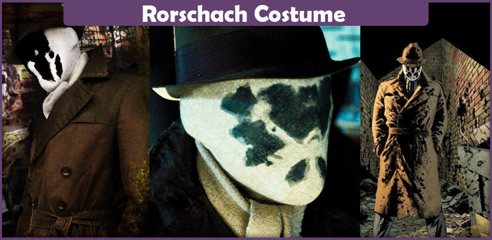 Rorschach Costume – A DIY Guide