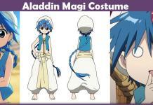 Aladdin Magi Costume