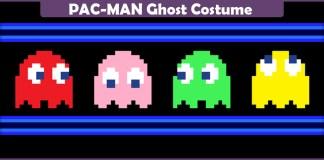 PAC-MAN Ghost Costume.