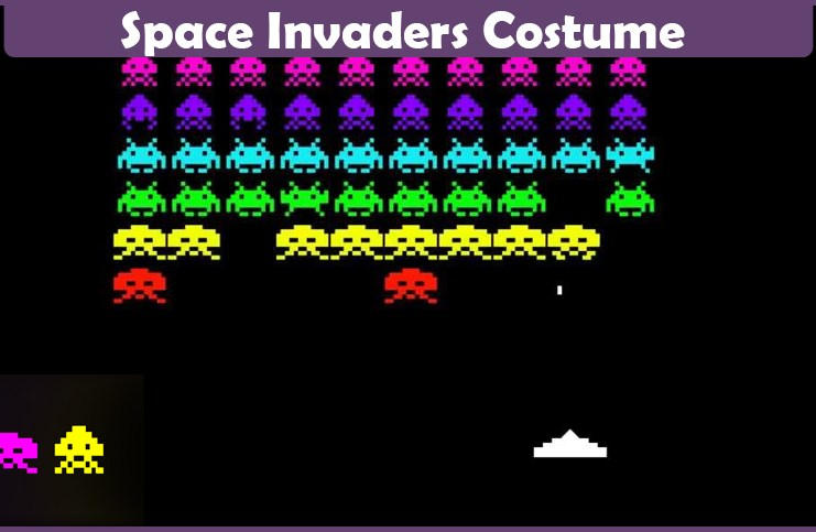 Space Invaders Costume.