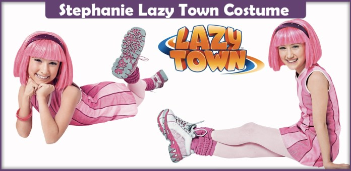 Stephanie Lazy Town Costume.