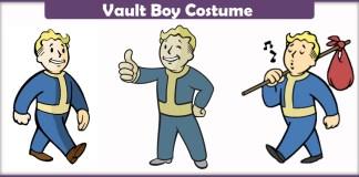 Vault Boy Costume