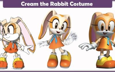 Cream the Rabbit Costume – A DIY Guide