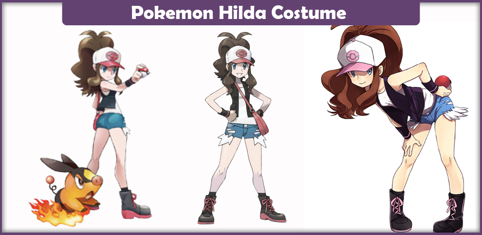 Pokemon Hilda Costume.