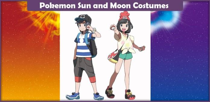 Pokemon Sun and Moon Costumes