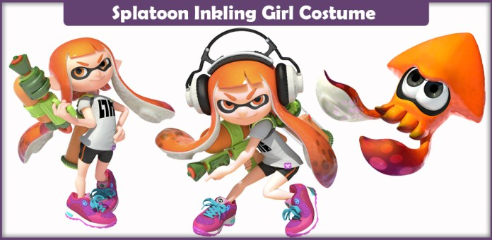 Splatoon Inkling Girl Costume.