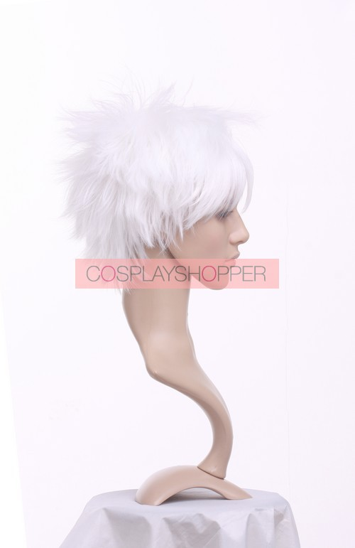 Near Wig  High quality White 32cm Death Note Near Cosplay