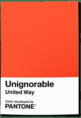 ВPantone придумали цвет Unignorable. Онпризван привлечь внимание ксоциальным проблемам