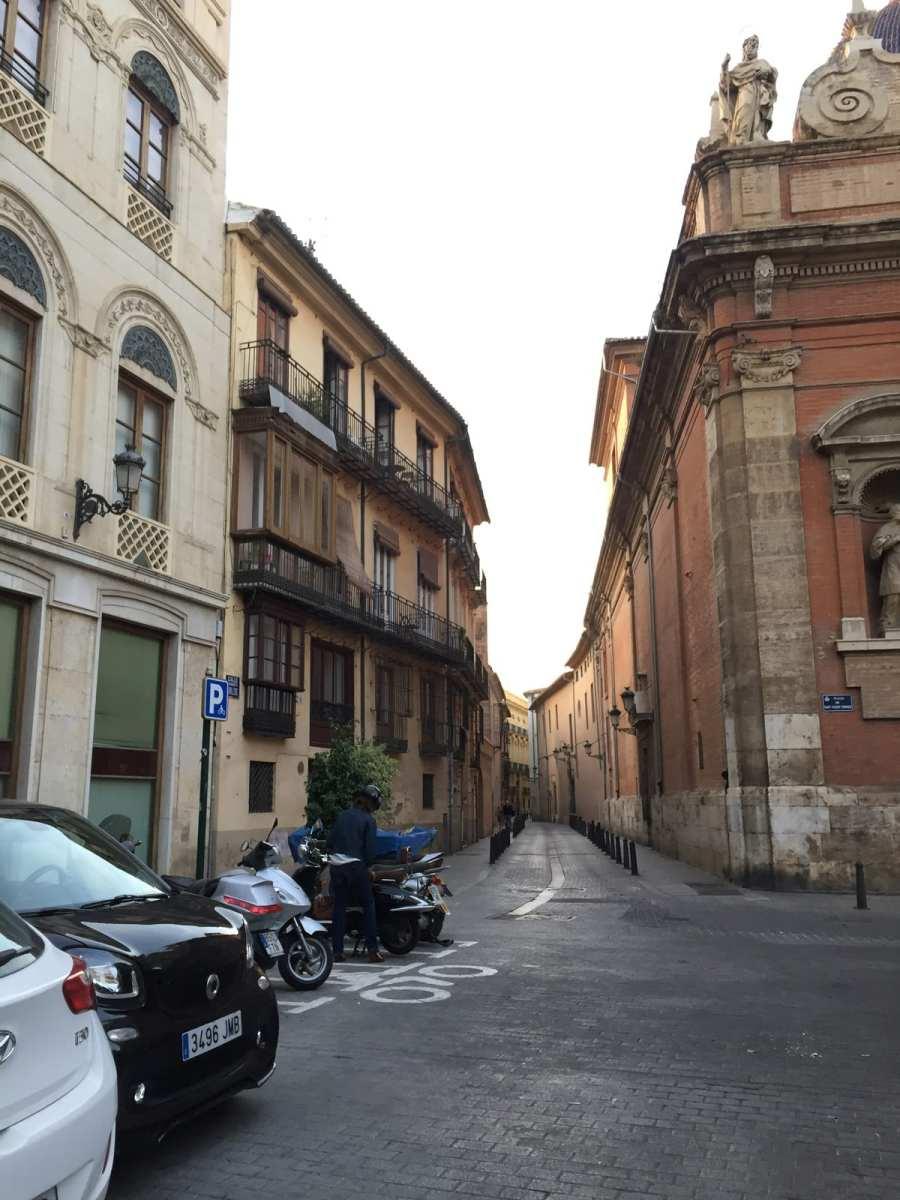 Straße in Valencia